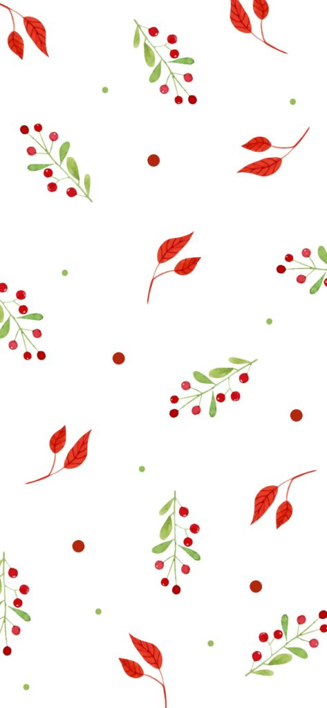 Berries Fall Background