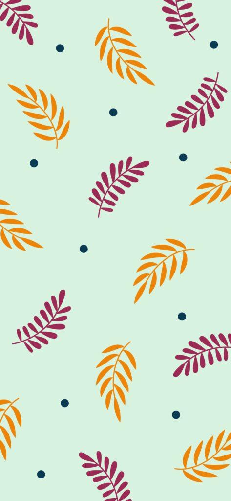 Botanical Aesthetic Fall Wallpaper