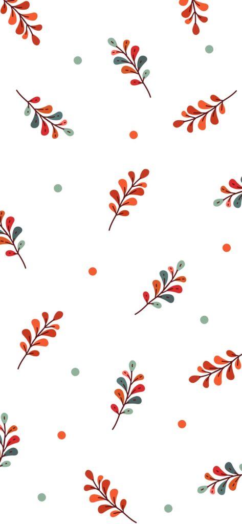 Botanical Cute Fall Wallpaper