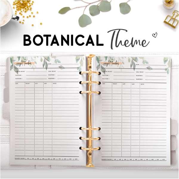 Botanical Theme Planners