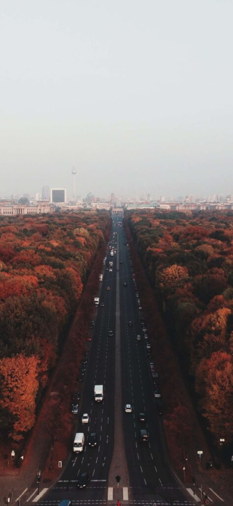 City Fall Wallpaper iPhone