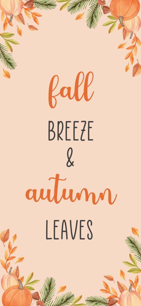 Fall Breeze Fall Wallpaper