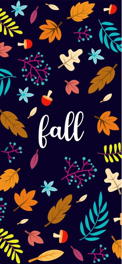 Fall Pattern Aesthetic Fall Wallpaper