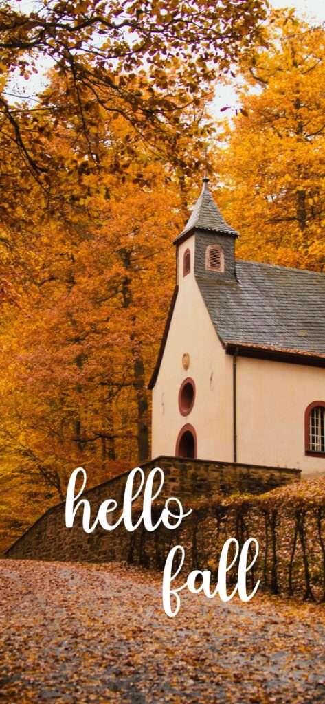 Hello Fall Autumn Wallpaper