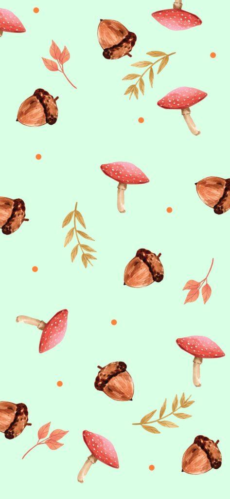 Pattern Autumn Wallpaper
