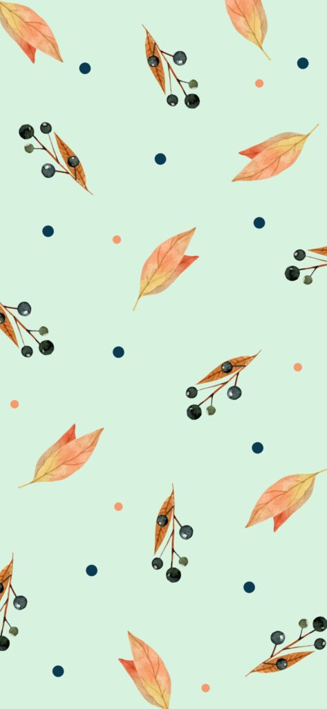 Pattern Cute Fall Background