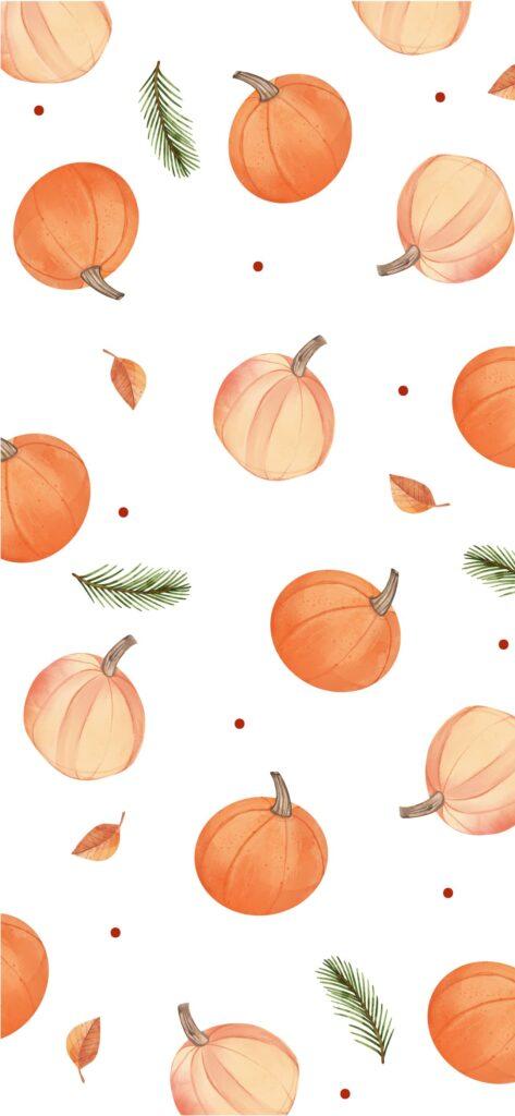 Pumpkin Fall Wallpaper iPhone