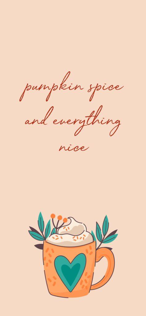 Pumpkin Spice Autumn Wallpaper