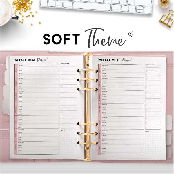 Soft Theme Planners