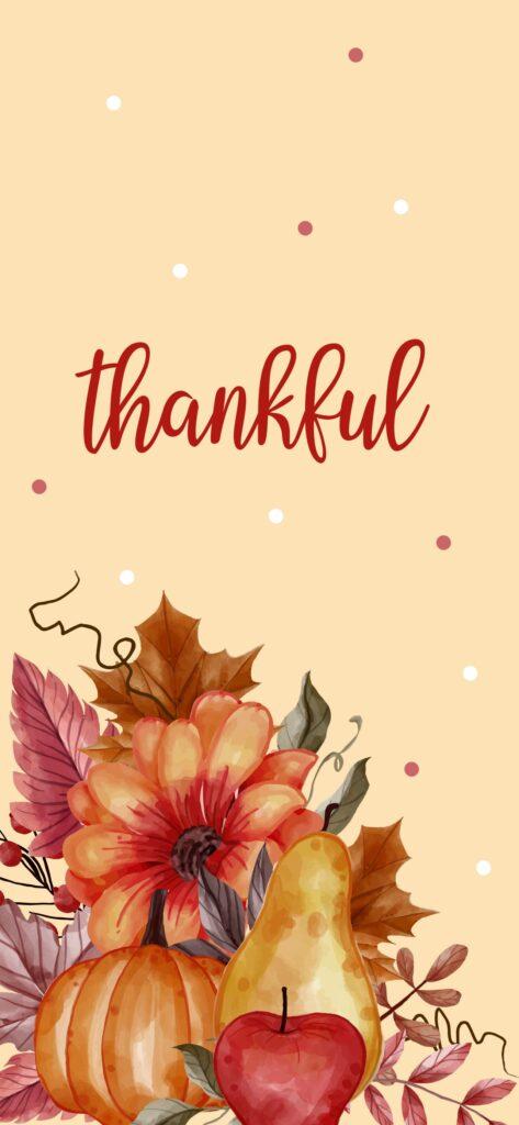 Thankful Fall Aesthetic Wallpaper