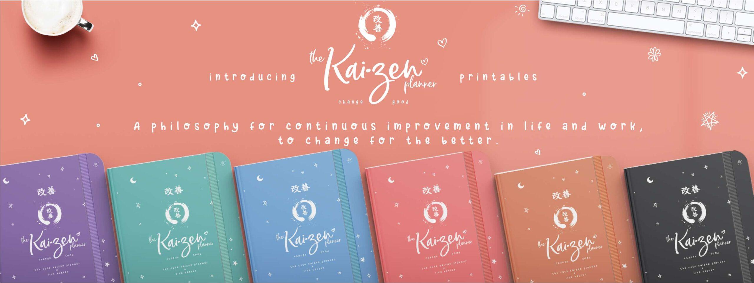 The Kaizen Planner Banner