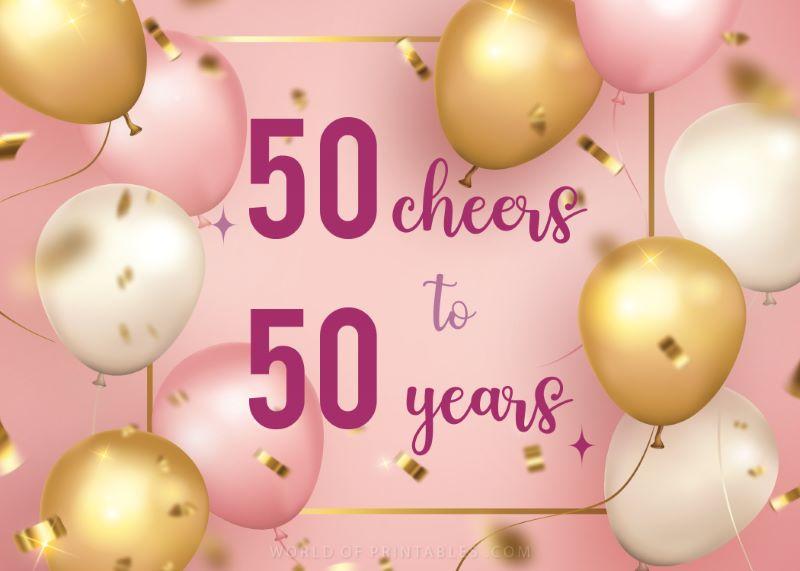 birthday wishes-happy-50th-birthday 50 cheers to 50 years